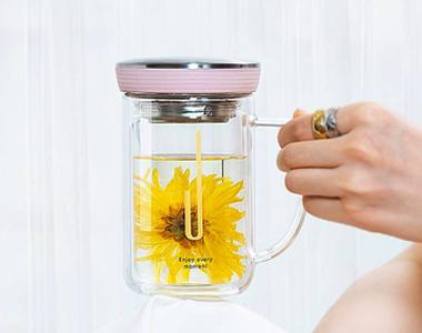 玻璃茶杯淘宝详情页设计