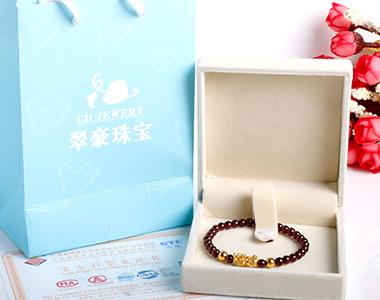 翠豪珠宝手链拍摄
